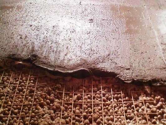 стяжка на керамзит